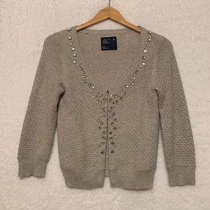 AE Beaded Cardigan